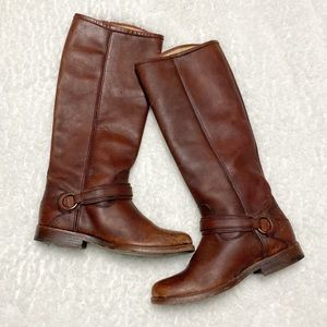 Frye Phillip ring riding tall boots